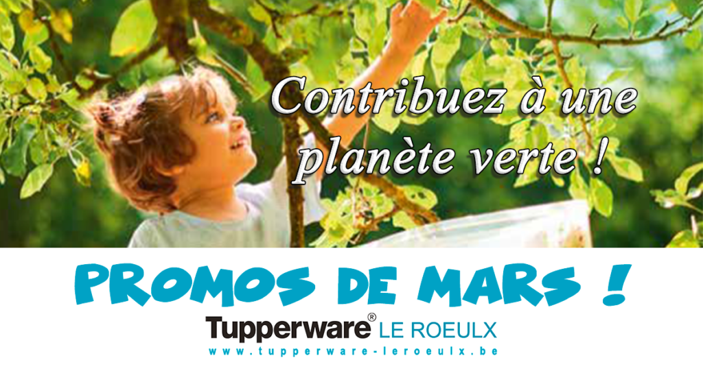 promotions tupperware mars 2019