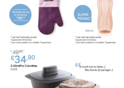 p4 - Promos Avril 2020 Tupperware Belgique