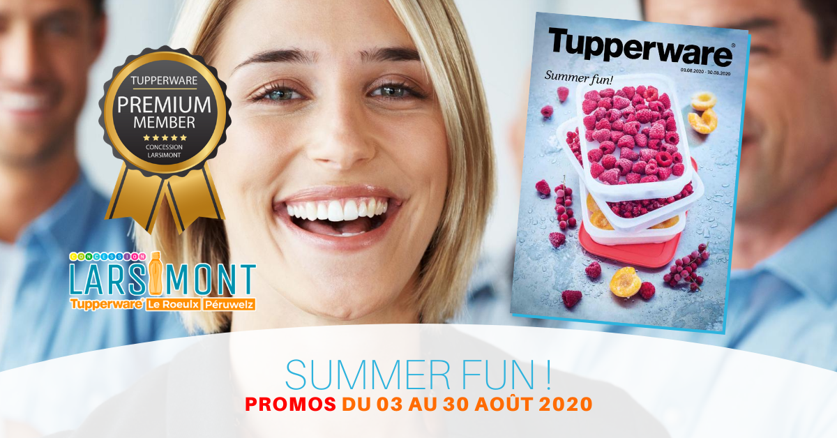 Promotion Tupperware Août