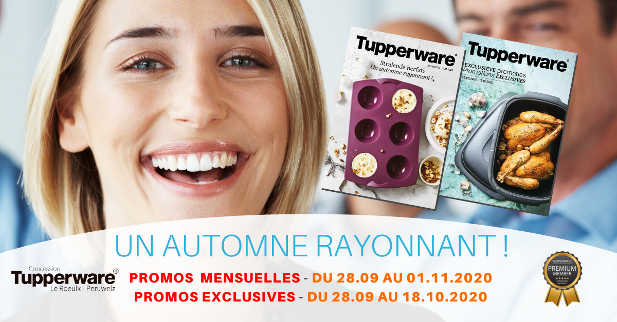 Promos Tupperware octobre 2020