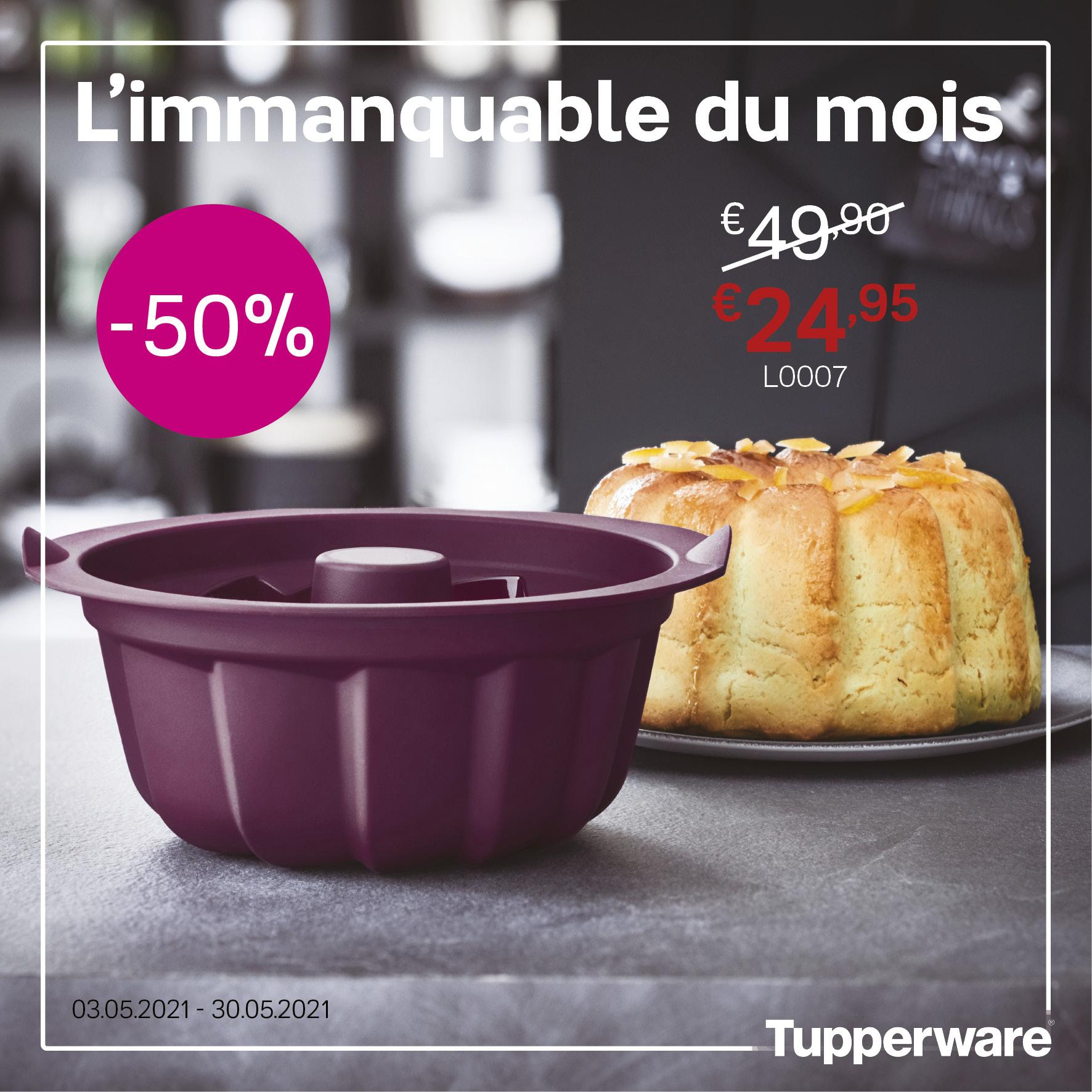 Moule Kougloff de Tupperware